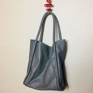 Neiman Marcus Bags - Neiman  Marcus grey large tote shopper bag